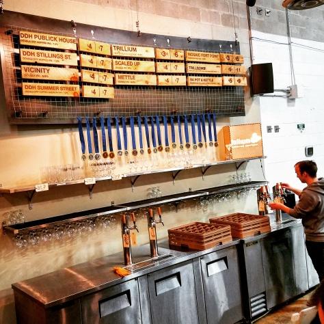 Крафтовая пивоварня. Trillium Brewery. Canton.