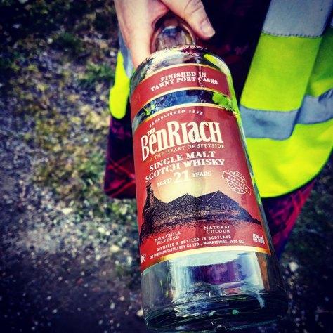 Как правильно произносить названия брендов шотландского виски? [Whisky brand names]. Benriach 21.