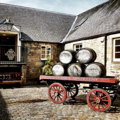 Keith. Шотландия. Strathisla distillery.
