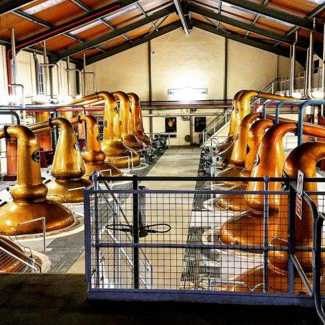 Столица мира виски. Город Даффтон. [Dufftown]. Шотландия. [2017 год]. Glenfiddich distillery.