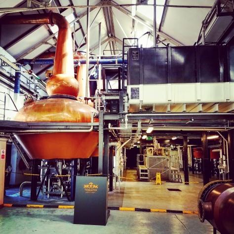 Дистиллерия Томатин. Tomatin Distillery.