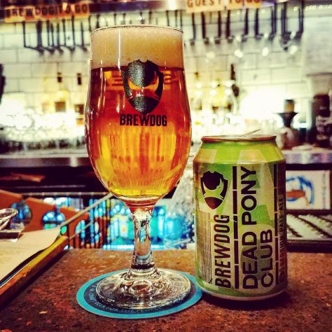 Обзор пива. BrewDog Dead Pony Club.