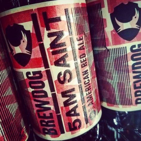 Обзор пива. BrewDog 5AM Saint.