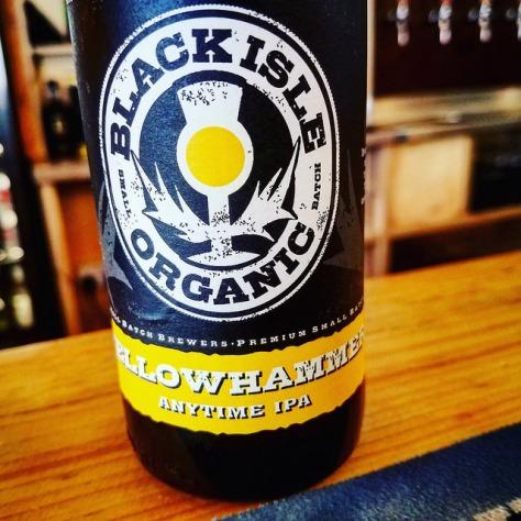 Обзор пива. Black Isle Yellowhammer Anytime IPA.