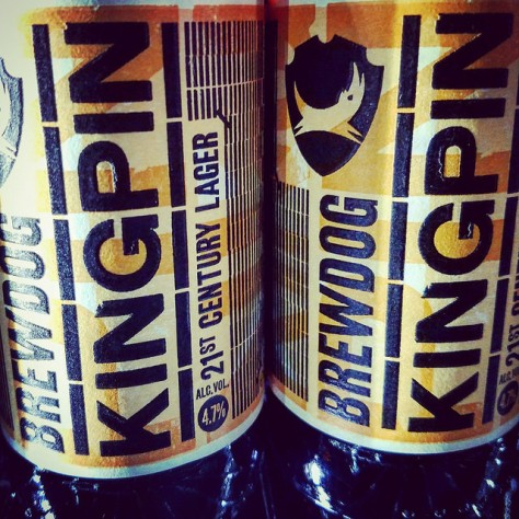 Обзор пива. BrewDog Kingpin.