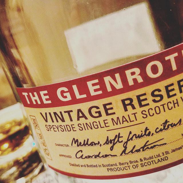 Обзор виски. Glenrothes Vintage Reserve.