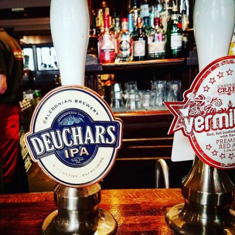 Обзор пива. Caledonian Deuchars IPA.