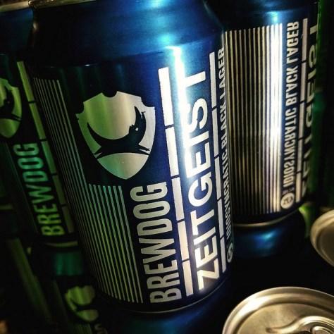 Обзор пива. BrewDog Zeitgeist.