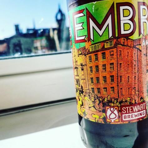 Обзор пива. Stewart Embra.