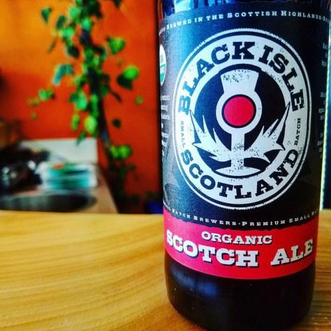 Об интересном сорте. Шотландский эль. Black Isle Scotch Ale. Обзор пива.