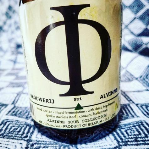 Обзор пива. Alvinne Phi.