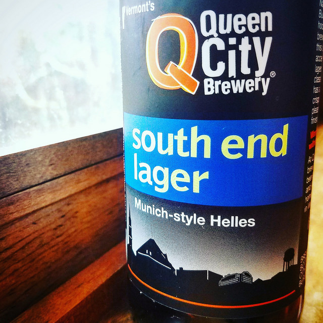 Обзор пива. Queen City South End Lager.