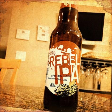Обзор пива. Samuel Adams Rebel IPA.