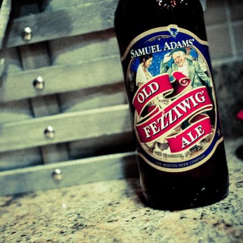 Обзор пива. Samuel Adams Old Fezziwig Ale.