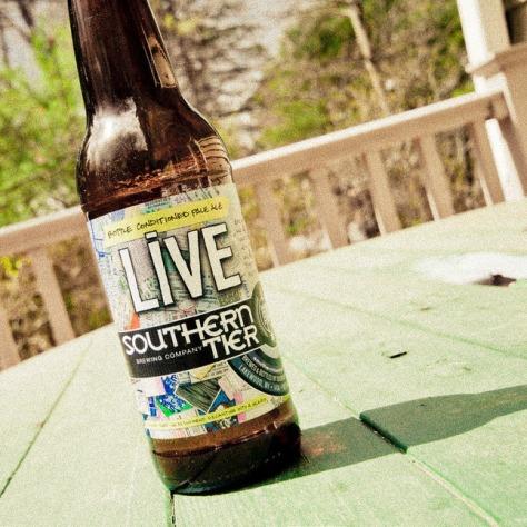 Обзор пива. Southern Tier Live.
