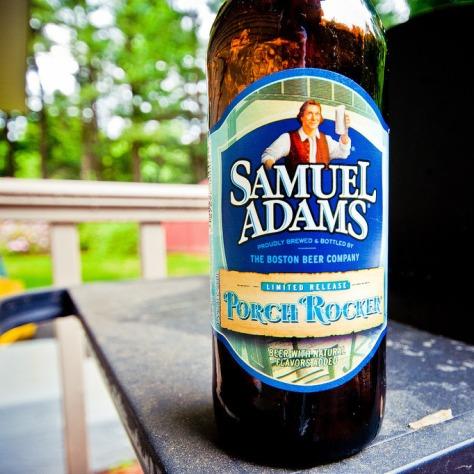 Обзор пива. Samuel Adams Porch Rocker.
