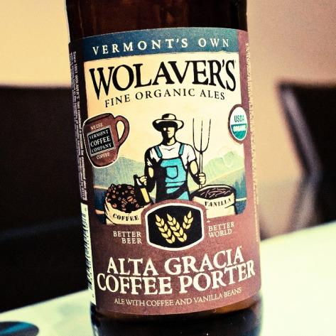 Обзор пива. Wolaver's Alta Gracia Coffee Porter.