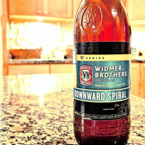 Обзор пива. Widmer Brothers Downward Spiral.
