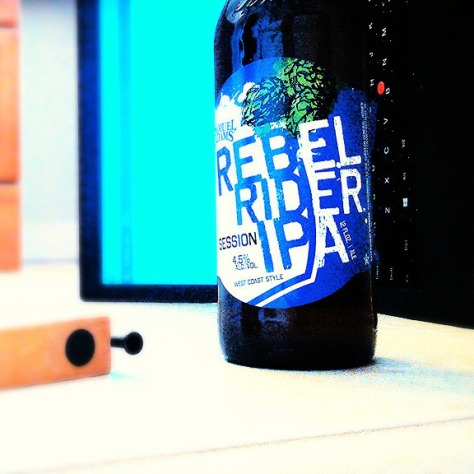Обзор пива. Samuel Adams Rebel Rider.