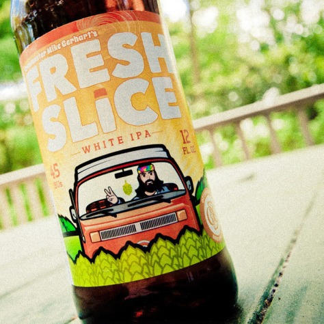 Обзор пива. Otter Creek Fresh Slice.