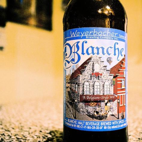 Обзор пива. Weyerbacher Blanche.