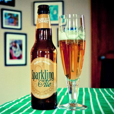 Обзор пива. Samuel Adams Sparkling Ale.