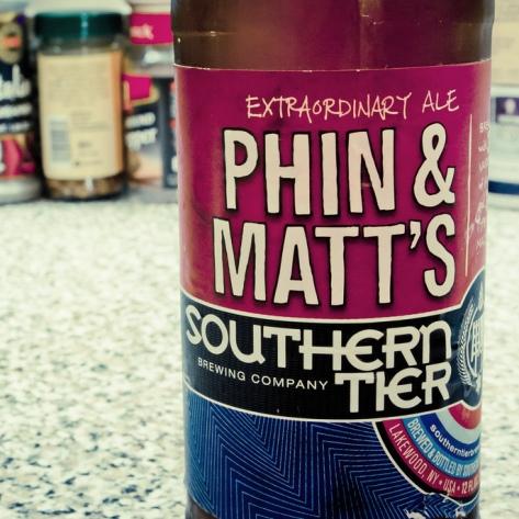 Обзор пива. Southern Tier Phin & Matt's Extraordinary Ale.