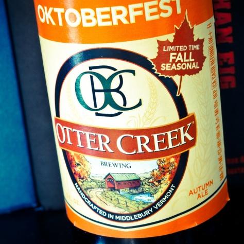 Обзор пива. Otter Creek Oktoberfest.
