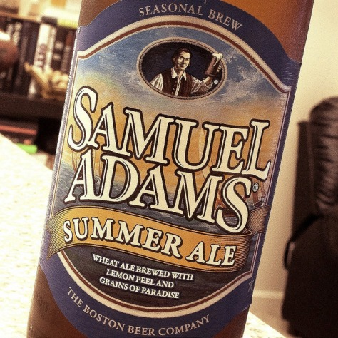 Обзор пива. Samuel Adams Summer Ale.