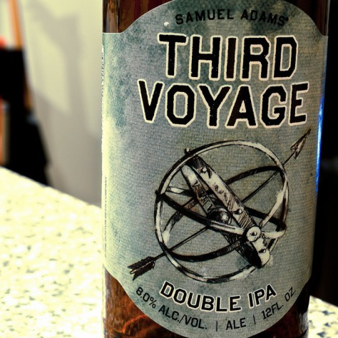 Обзор пива. Samuel Adams Third Voyage Double IPA.