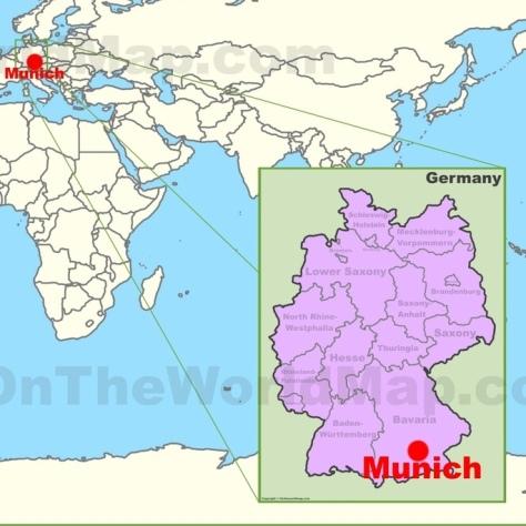 Об интересном сорте. Мюнхенский тёмный лагер. Мюнхен.