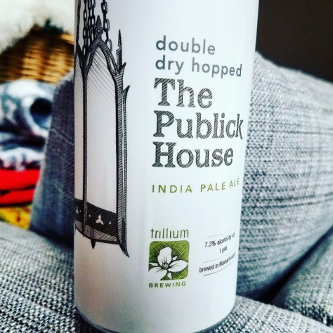 Обзор пива. Trillium The Publick House IPA.