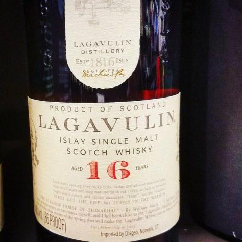 Торфяной виски. Lagavulin 16. Обзор виски.