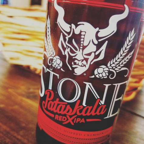 Обзор пива. Stone Pataskala Red X IPA.