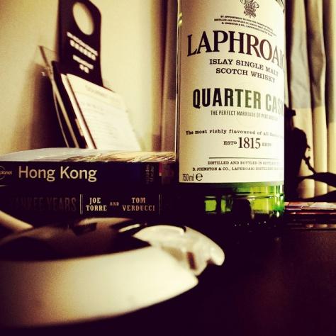 Нефильтрованный виски. Laphroaig Quarter Cask. Обзор виски.