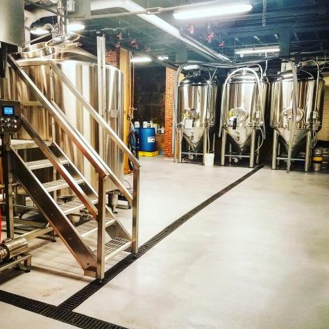 Крафтовая пивоварня. Concord Brewing Company.