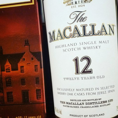 Обзор виски. Macallan 12.