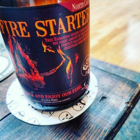 Обзор крепкого сидра. North Country Fire Starter.