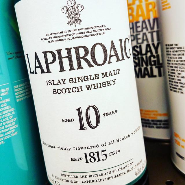 Обзор виски. Laphroaig 10.