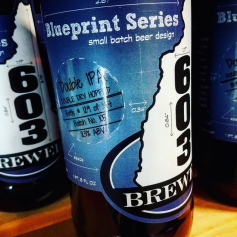 Обзор пива. 603 Blueprint Series Double IPA.