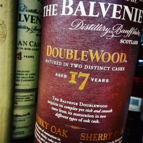 Цвет виски. Balvenie 17 DoubleWood.