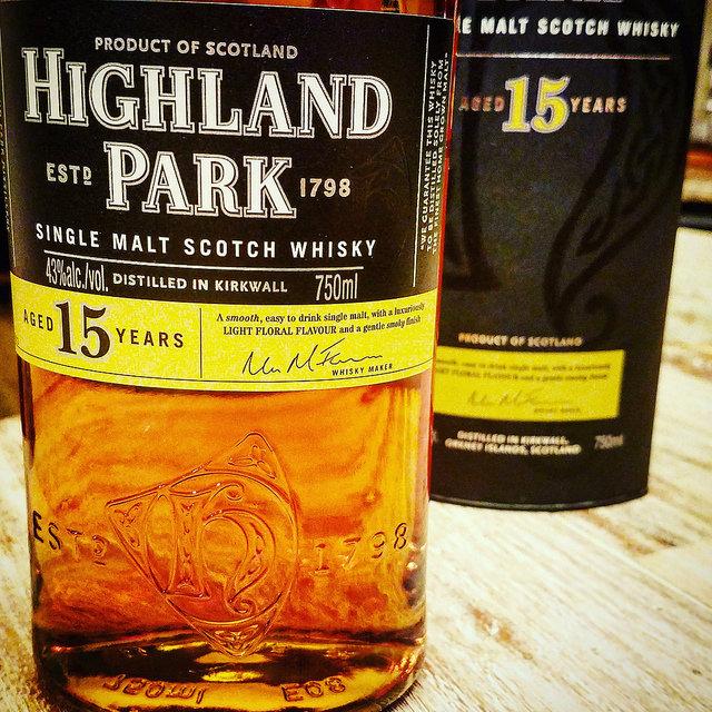 Обзор виски. Highland Park 15.