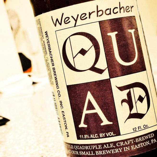 Обзор пива. Weyerbacher Quad.