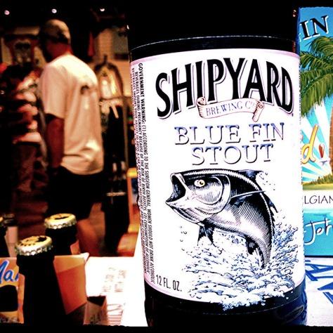 Обзор пива. Shipyard Blue Fin.
