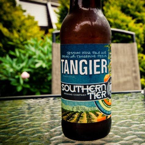 Показатели ABV и IBU. Southern Tier Tangier. Обзор пива.