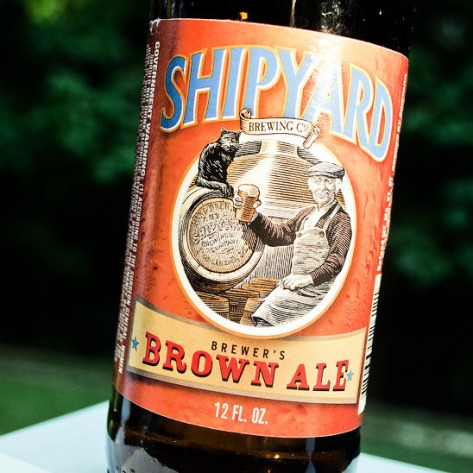 Обзор пива. Shipyard Brewer's Brown Ale.