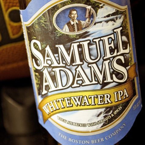 Обзор пива. Samuel Adams Whitewater IPA.