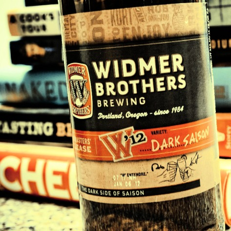 Обзор пива. Widmer Brothers W'12 Dark Saison.