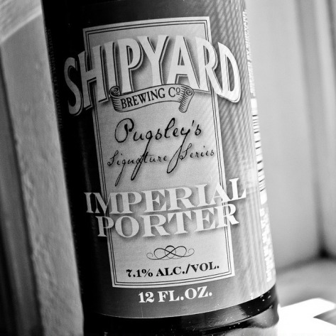 Обзор пива. Shipyard Imperial Porter.