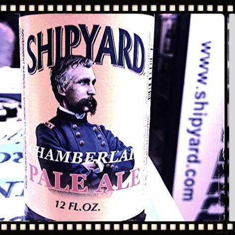 Обзор пива. Shipyard Chamberlain Pale Ale.